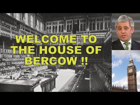 Welcome to the anti Brexit House of Bercow!!