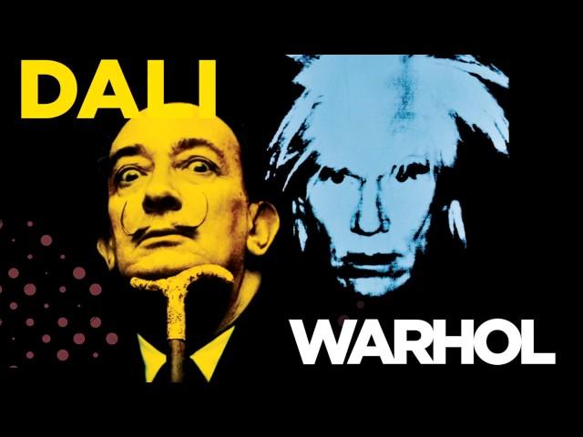 Salwador Dali kontra Andy Warhol - wystawa w PKiN (22.04-8.10,2017)