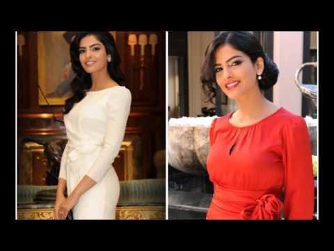 Принцесса Саудовской Аравии-первая,которая публично отказалась от абайи и развилась со старым мужем!