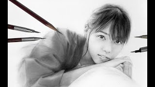 西野七瀬卒業を惜しみつつ描いてみた〜乃木坂46/Pencildrawing/NanaseNishino/HowToDraw