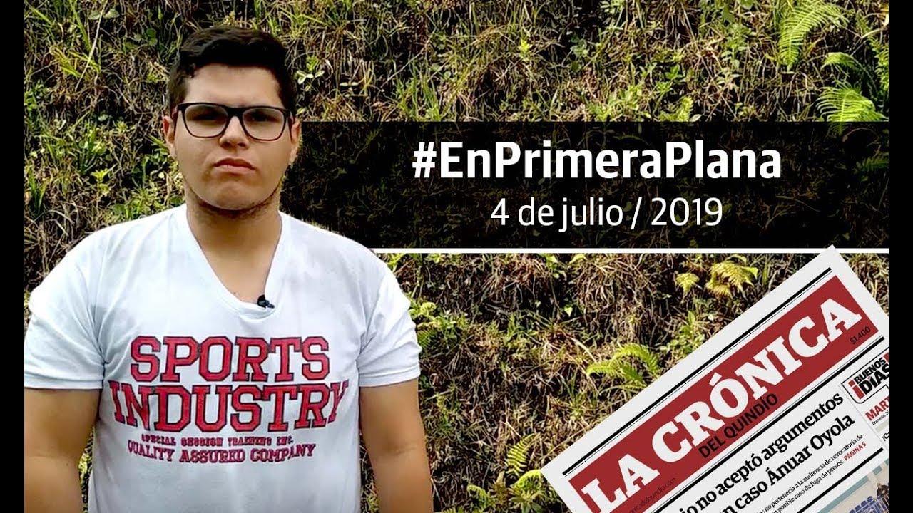 En Primera Plana: lo que será noticia este viernes 5 de julio