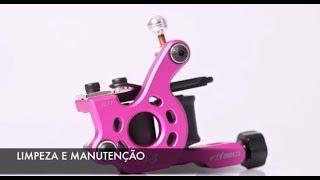 Como Limpar sua Máquina de Bobina Electric Ink
