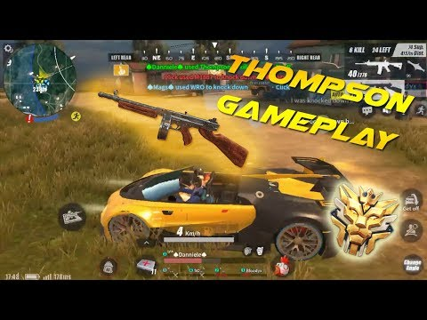 Is Thompson A Better Secondary Weapon in ROS? (MOBILE GAMEPLAY)