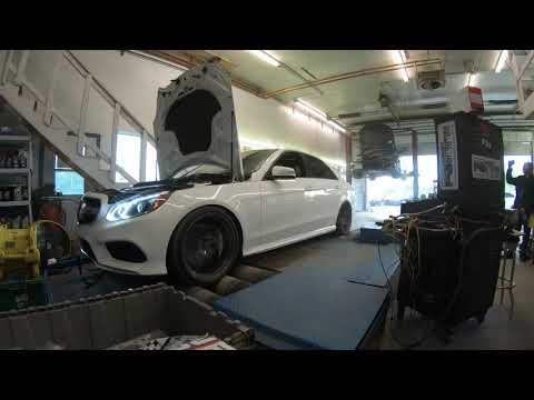 E550 M278 Stage 2 Eurocharged straight Pipe - смотреть онлайн на Hah