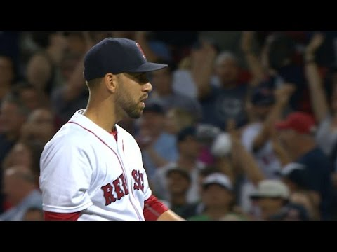 8/9/16: Porcello earns 100th win as Sox down Yankees