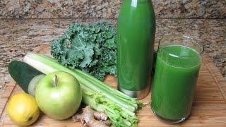 Simple Green Juice Recipe || Detoxing And Cell Rejuvenating Green Juice