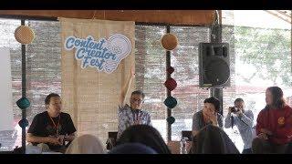 Content Creator Fest Ajak Pelaku Medsos Persempit Dampak Negatif Medsos