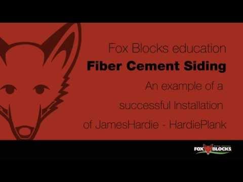 Fox Blocks ICF Fiber Cement Siding Attachment