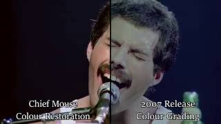 Queen - Rock Montreal - Colour Restoration Project [Chief Mouse]