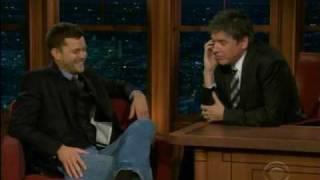 Joshua Jackson - 14/12/09 The Late, Late Show with Craig Ferguson!