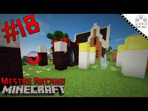 Mestre Arcano - Ep. #18 Rituais do Ars Magica [Simply Magic FTB PT-BR Minecraft]