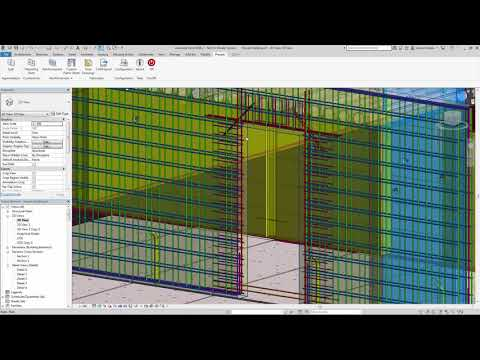 Revit 2019 Manual Addition of Rebars Demonstration