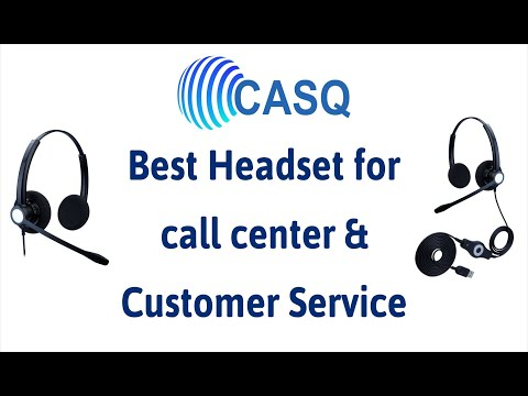 Noise Cancelling Call Center Headset