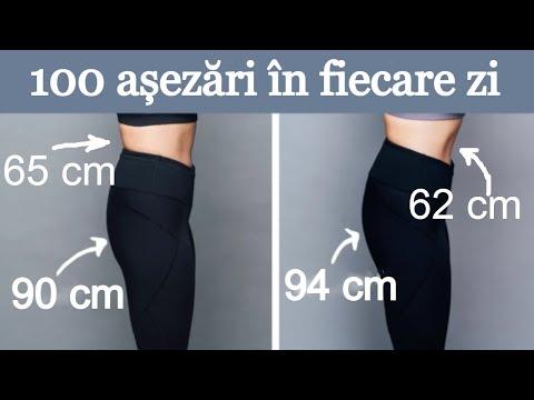 Poți să pierzi greutatea în picioarele tale