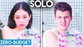 K-POP WITH ZERO BUDGET! (JENNIE - SOLO)