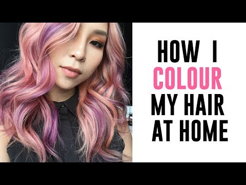 How I Colour My Hair At Home - Collab with L'Oreal Colorista