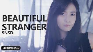 GIRLS' GENERATION - Beautiful Stranger (Line Distribution)