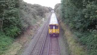 preview picture of video 'Dunkirk Ln. Bridge, 20/09/10 - Merseyrail Action.'