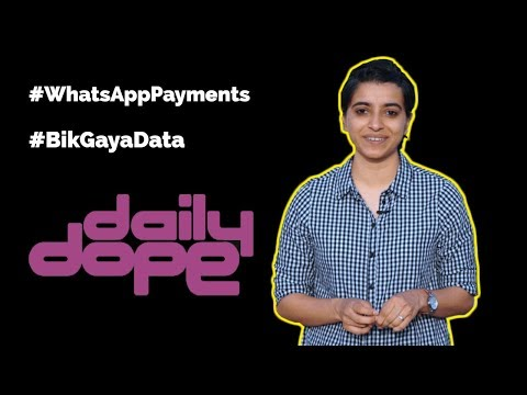 WhatsApp all set for a payments launch - #DailyDope
