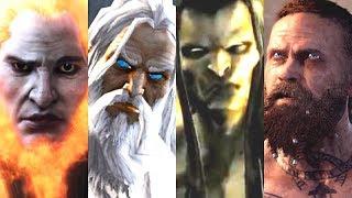 Evolution of Final Bosses in God of War Games (2005-2018)