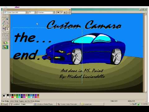 How To: Draw a Car Using MS Paint