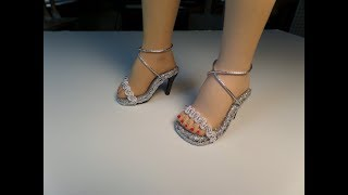 How To Make High Heel Doll Shoes Part 3
