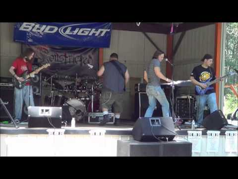 "Constricted - ""Drop C"" (live) Centurions Clubhouse July 14th 2012"
