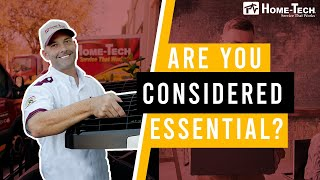 Are You Considered Essential?