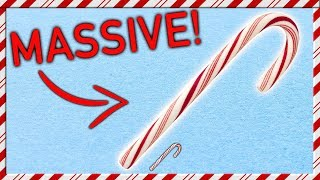 How To Make a Giant Candy Cane