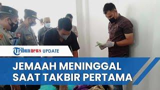 Detik-detik Jemaah Masjid Agung Tasikmalaya Wafat saat Salat Jumat, Tersungkur saat Takbir Pertama