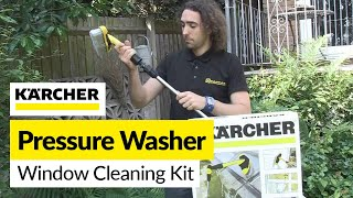 How to Wash Windows With a Pressure Washer