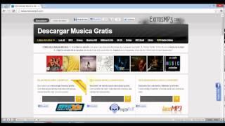 Descargar canciones directas con exitosmp3.com