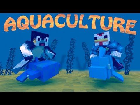 Fishing Mod: Minecraft Aquaculture Mod Showcase!