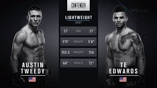 FREE FIGHT | One Shot is All it Takes From Edwards | DWTNCS Week 3 Contract Winner - Season 2