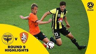 Hyundai A-League 2018/19 Round 9: Wellington Phoenix 4-1 Brisbane Roar