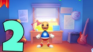 KICK THE BUDDY 2 - Gameplay Walkthrough Part 2 iOS / Android - Room Background Unlocked