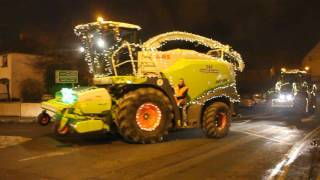 Christmas Tractors of Carrick on Suir 2016