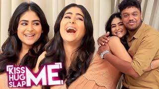 "Hilarious ""Kuthu Dance"" - Kuppathu Raja Actress Pallak Lalwani Plays Kiss Me😘 Hug Me🤗 Slap Me 👋"