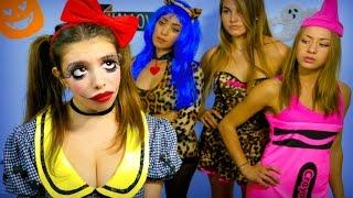 Halloween Kids VS Adults!  | Julia Gilman
