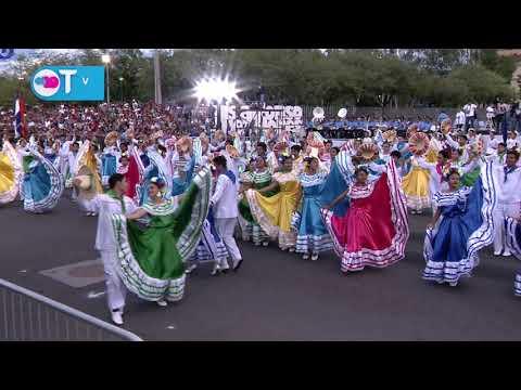 Managua Linda Managua, Presentación Desfile Patrio 2019