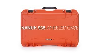 Nanuk Protective 935 Case With Foam Graphite GARANSI RESMI