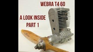 Webra T4 60 A Look Inside Part 1