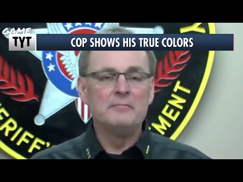Kenosha Sheriff Can't Hide His Racism During Video Rant