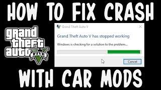 Gta V Crash Fix Mod