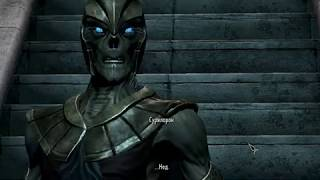Beyond Skyrim BRUMA - Айлейдский лич - реакция на расу Довакина