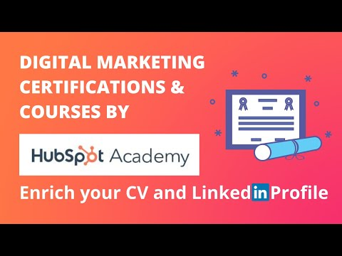 FREE Certification Courses by Hubspot Academy   Free Online ...