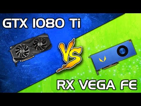 Radeon Vega Frontier Edition vs GTX 1080 Ti - Comparison