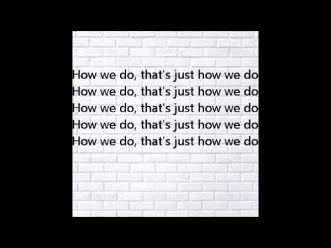 Rita Ora - How We Do (Party) (Official Instrumental) With Lyrics HQ