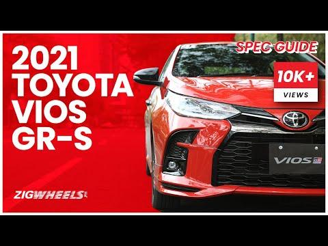 2021 Toyota Vios GR-S Spec Guide | Zigwheels.Ph