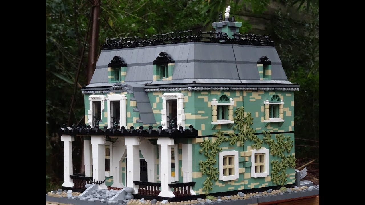 Lego haunted house MOC 🎃👻🦇